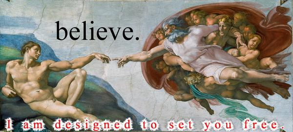 the creation of jesus